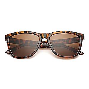 Slocyclub Unisex Retro Wayfarer 80's Polarized Sunglasses UV400 Sunglasses