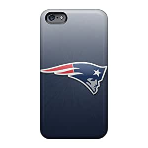Bumper Hard Cell-phone Cases For Apple Iphone 6 With Custom Vivid New England Patriots Pattern CharlesPoirier