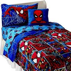 Amazon Com Spiderman Frames Comforter Twin Bedding