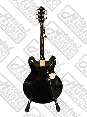 Oscar Schmidt Delta King Guitarra eléctrica, Negro, oe30b CP correa Púas funda: Amazon.es: Instrumentos musicales