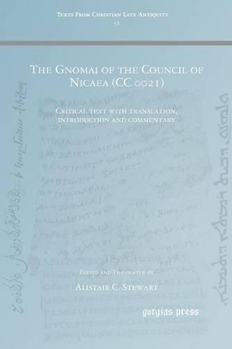 The Gnomai of the Council of Nicaea (CC 0021)