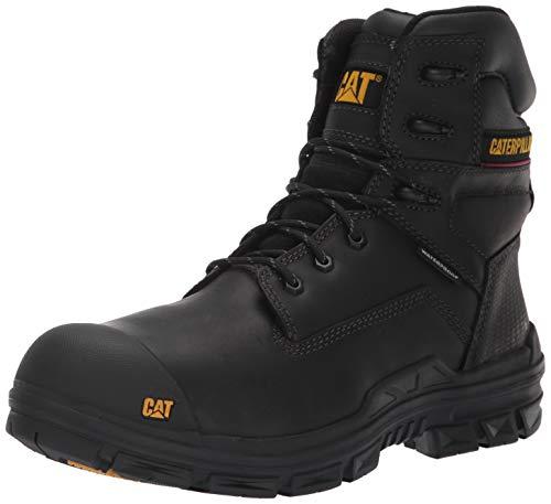 Caterpillar Men's crossbar Nano Toe Waterproof Construction Boot, Black, 13 M US