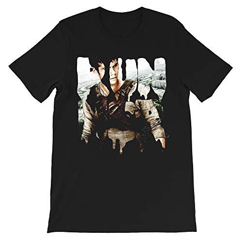 Runner - Thomas Quote Maze Runner-The Death Cure Movie Newt Teresa Minho Brenda Gift for Men Women Girls Unisex T-Shirt (Black-M) (Maze Runner Quote Shirt)