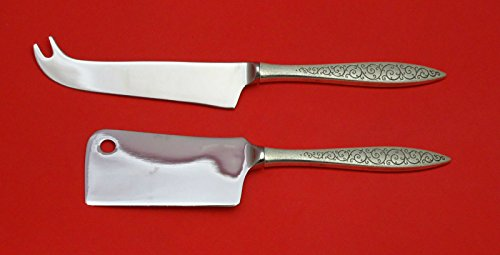Spanish Lace by Wallace Sterling Silver Cheese Srvr Serving Set 2pc HHWS Custom -
