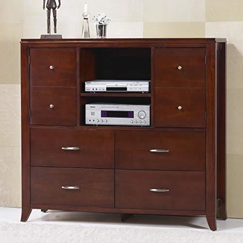 Modus Furniture BR1589 Brighton Media Chest, Cinnamon