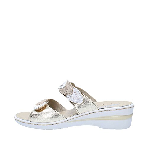 Melluso 02966 Sandals Women Platinum