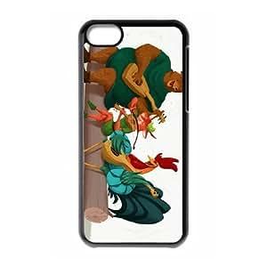 iPhone 5C Phone Case Black Robin Hood Character Alan-a-Dale WE1TY687688