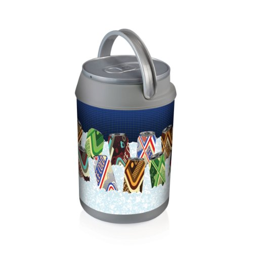 Picnic Time Mini 6-Can Cooler, Classic - 828 Wine