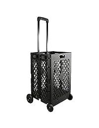 Olympia herramientas 85–010Grand pack-n-roll portátil porta herramientas, color negro, Carrito con ruedas, malla, 24.94kg, Negro