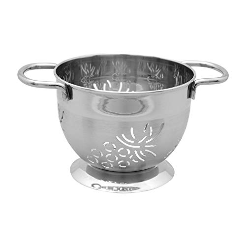 (Supreme Housewares Stainless Steel Colander, Mini, Grape)