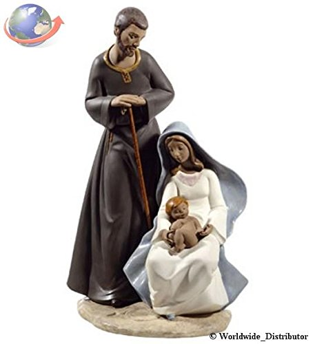 Holy Family Porcelain - Nao Porcelain by Lladro THE HOLY FAMILY RELIGIOUS GRES COLLECTION 2012007