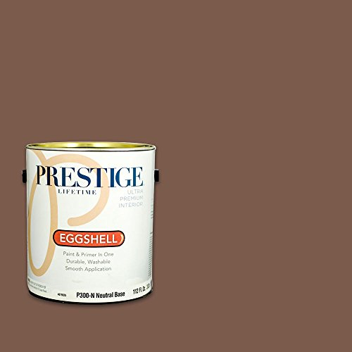 Prestige, Browns and Oranges 3 of 7, Interior Paint and Primer In One, 1-Gallon, Eggshell, Pottery Clay