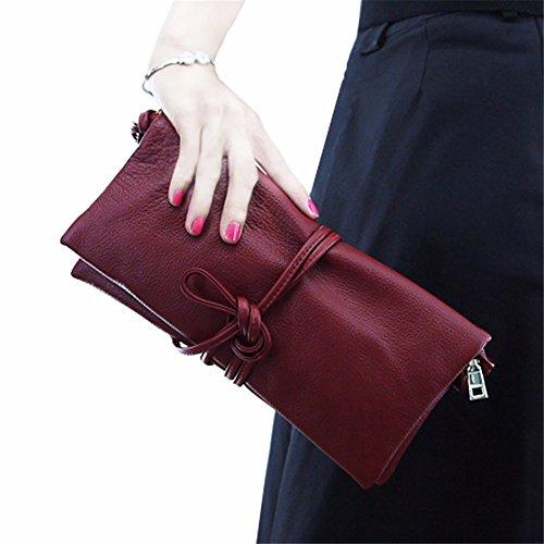 rouge Le Vin petit diagonale Rouge vin style le sac embrayage de 14cm nouvel 29 W7Pgqvc