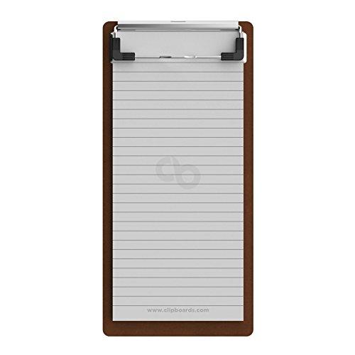 Server 4 x 8 HDF Clipboard (Long Notepad)