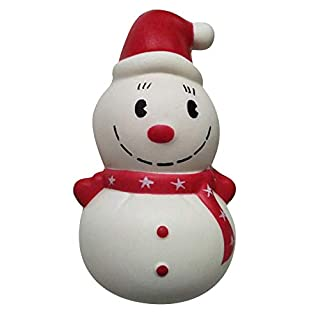 Fineday Decompression Toy Christmas Snowman Slow Rising Toy for Kids Boy Girl Gift, Squishy Toy, for Christmas Day (E)