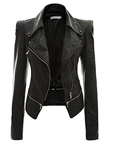 Leather Biker Jackets For Women - 5