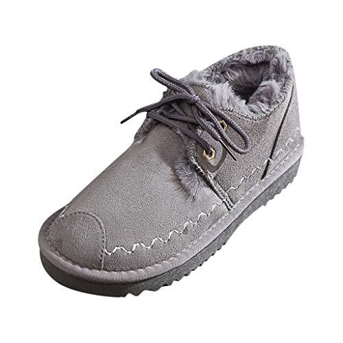 KERULA Sneaker Damen High Top Schnürsenkel Warm Sportschuhe Wanderschuhe Laufschuhe Turnschuhe Hallenschuhe Joggingschuhe Freizeitschuhe Walkingschuhe Fitness Running Schuhe für Outdoor