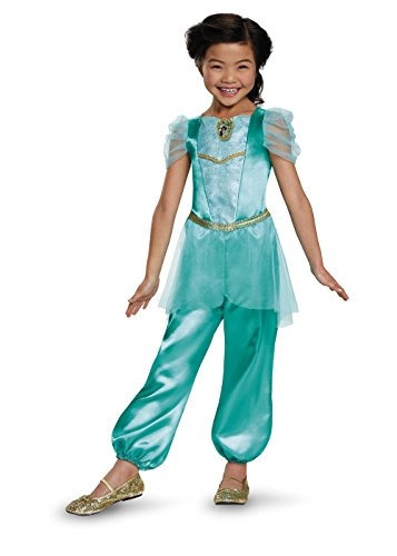 Little Girls' Disney Princess Jasmine Classic Costume (Jasmine Costume Kids)