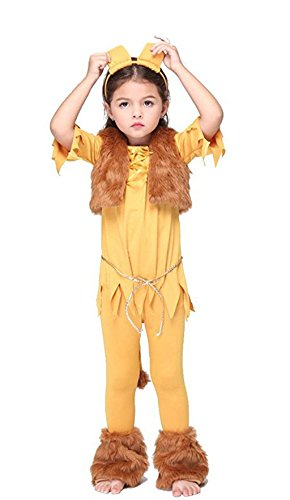 2016 Girl Halloween Costume Ideas (NonEcho Lion King Halloween Costumes for Children, Kids, Boys & Girls (Large1))