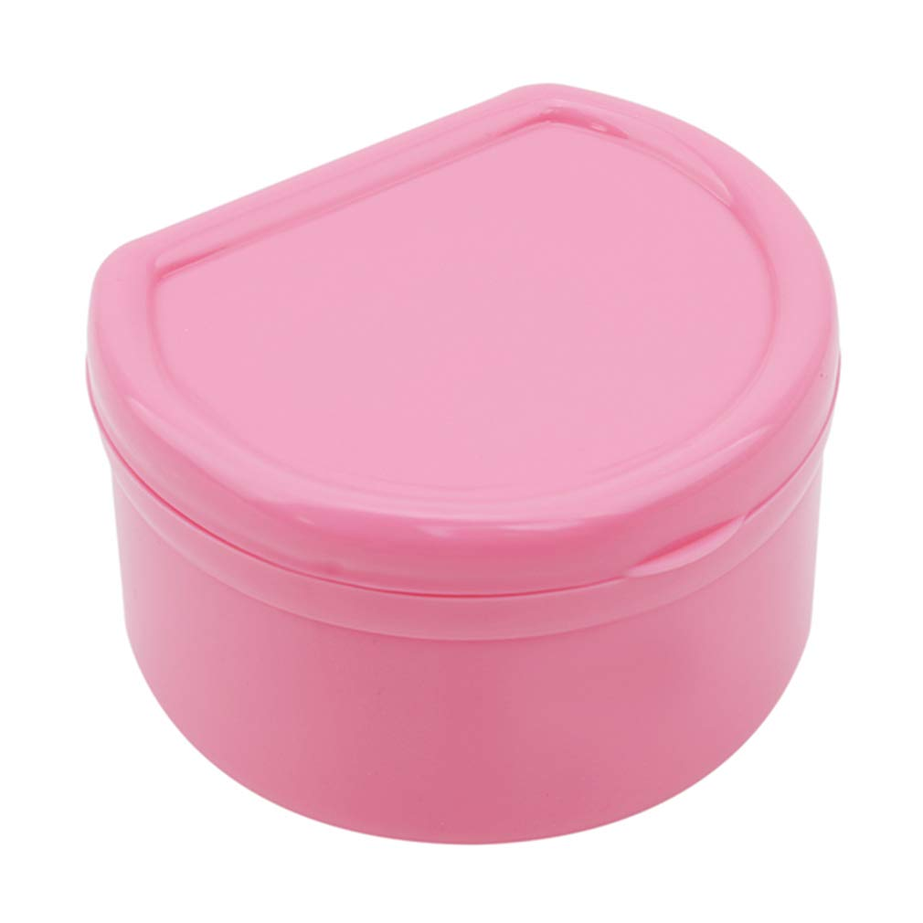 HENGSONG Plastic Denture Retainer Storage Case Box False Teeth Protective Dental Case Dental Appliances,Purple mei_mei9 HENGSONG764249138UK
