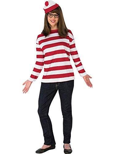 Rubie's Costume Co Women's Where's Waldo Wenda Plus Costume, As Shown, One -