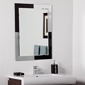 bathroom mirrors montreal decor montreal modern frameless 11152