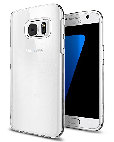 Spigen Liquid Crystal Galaxy S7 Case with Slim Protection and Premium Clarity for Samsung Galaxy S7 2016 – Crystal Clear