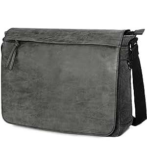 "Amazon.com  Mens Laptop Messenger Bags 15.6"" Water Resistant ... 5b4f00a65a334"