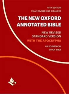 The new oxford annotated bible with apocrypha new revised standard the new oxford annotated bible with apocrypha new revised standard version fandeluxe Choice Image