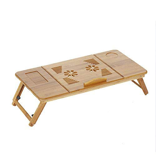 BFQY to Folding Table, Laptop Table Bed Lazy Table with Radiator Learning Desk ()