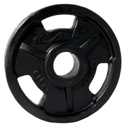 CAP Barbell Rubber Coated Plate