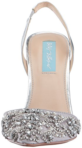 Betsey sonia Sb womens Silver Metallic Johnson rxPHqwr