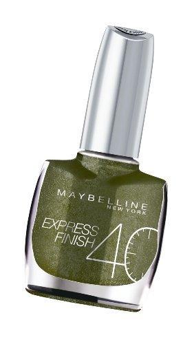 (EXPRESS FINISH Lacquer 850 Vert Kaki/Khaki Green Nail Polish by Express)