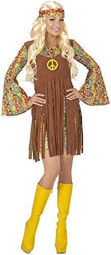 WIDMANN Disfraz de Hippie para Mujer, Adulto: Amazon.es: Juguetes ...