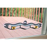 "K&H Pet Products EZ Mount Track n' Roll 23"" Interactive Cat Toy Mounts to Windows"
