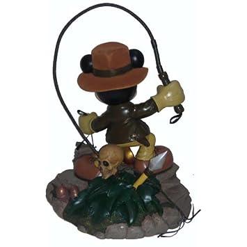 Disney Parks Exclusive Mickey Mouse Indiana Jones Medium Big Fig Figure