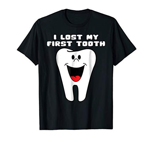 I Lost My First Tooth Shirt Cute Baby Tooth Out ()