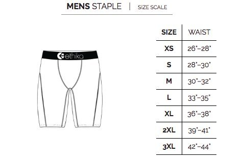 Amazon.com  Ethika Mens - The Staple  Clothing a7eb50634cd9