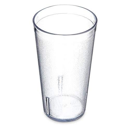(Carlisle (521607) Clear Stackable Tumblers, Set of 12 (16-Ounce, SAN))