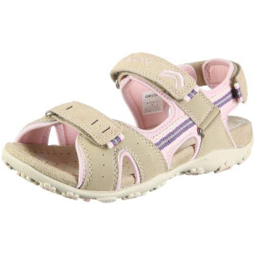 Geox Textil Junior Sandal Roxanne J01D9R05022C5272 - Sandalias para niña Beige (Beige/beige/lt pink)