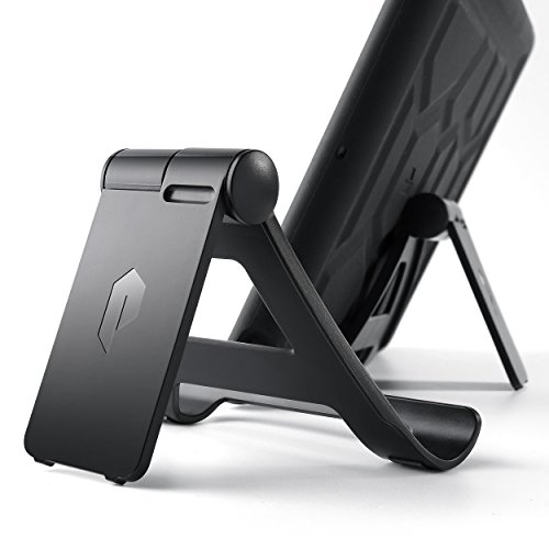 Poetic Universal Adjustable Multi-Angle Mount Holder Stand for Tablet/E-Reader, iPad Mini, iPad Air, iPad 9.7 2017, Galaxy Tab S3 9.7, iPad Pro 9.7,12.9 (Black)