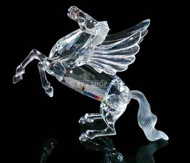 Swarovski Mint - Swarovski Pegasus Fabulous Creatures Series 1998 Limited Edition Crystal Figurine with Box and Certificate Mint Condition