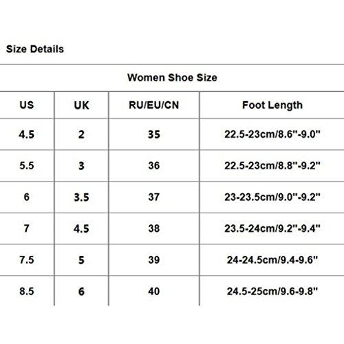 Transer® Damen Sandalen/Slipper Mid-heeled Gürtel Grob Kunstleder+Kunststoff Silber Gold Weiß Sandalen (Bitte achten Sie auf die Größentabelle. Bitte eine Nummer größer bestellen) Silber