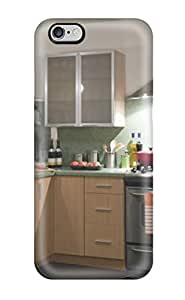 Excellent Design Sea Foam Granite Kitchen With Bamboo And Stainless Steel Appliances Case Cover For Iphone 6 Plus