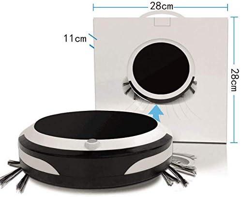 WANGXIAO Aspirateur Robot,Vadrouille Automatique Super-Mince Temps D\'exécution élevé Modes De Nettoyage Multiples Aspiration Forte pour Les Tapis.