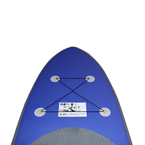 ARCADIAW Inflatable SUP Stand Up Paddleboard 10ft Long 6inch Thick by ARCADIAW (Image #2)'