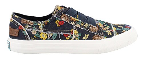 Blowfish Women's Marley Navy Japanese Floral Canvas 6.5 M US