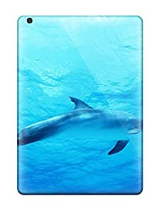 lintao diy Protection Case For Ipad Air / Case Cover For Ipad(dolphin In Deep Blue Sea)