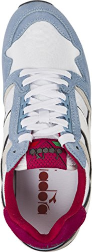 Diadora I c 4000 Nyl Ii Sneaker A Collo Basso Unisex – Adulto Blu campanula Azul grigio Acciaio 45 Eu …