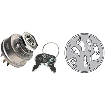 Ignition Switch for Toro/Wheel Horse on